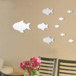 Decorative Wall Mirror Sticker Kxqj China Home Decoration