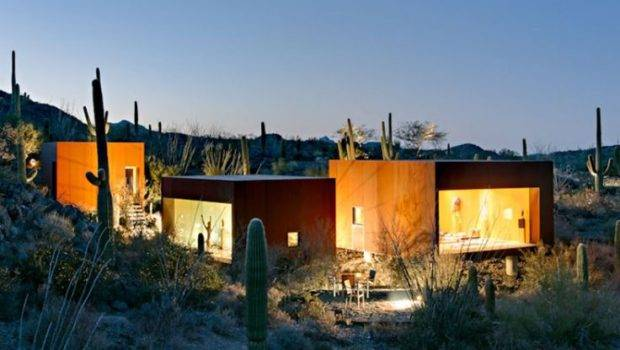 Desert Nomad House Located Tucson Arizona Architect Rick Joy