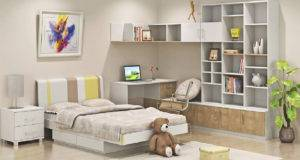 Design Bedroom Bookcase House