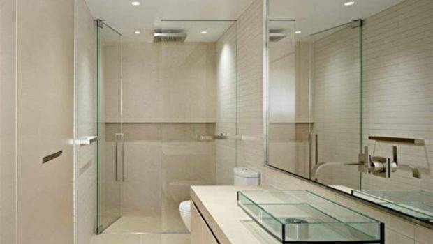 Design Color Beige Best Small Bathroom Tile