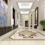 Design Floor Marble Lobby Dining Living Room Staircase