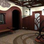 Design Ideas Ofbrown White Wall Paint Natural Stone