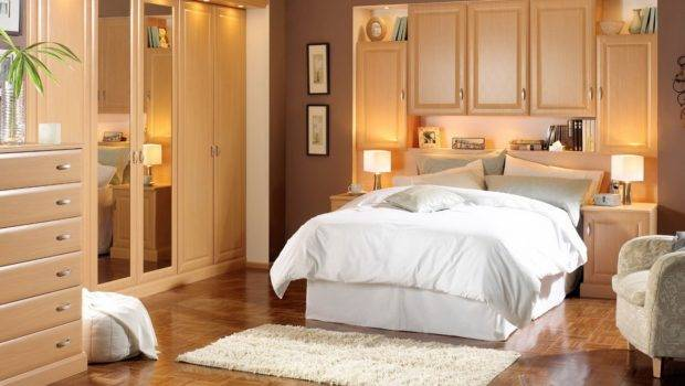 Design Ideas Small Bedroom Has Cabinet