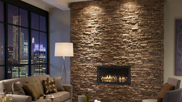 Design Ideas Stone Walls Decor Installation Interior Wall