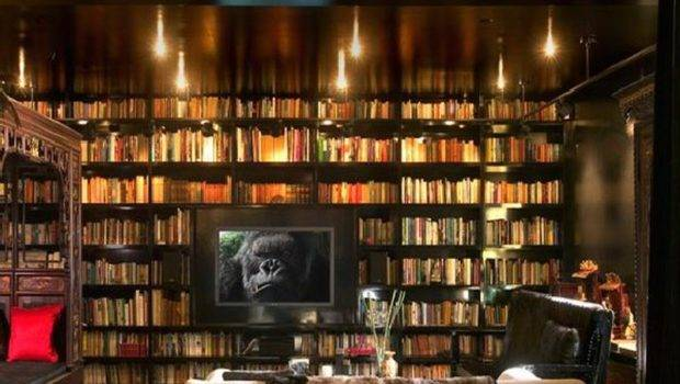 Design Interesting Home Library Ideas