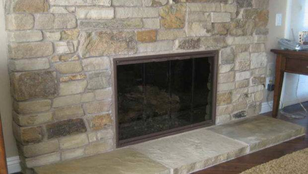 Design Natural Stone Fireplaces Ideas