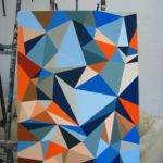 Design Pathway Painting Geometric Abstraction