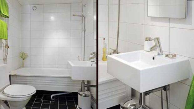 Design Small Apartment Bathroom Interior