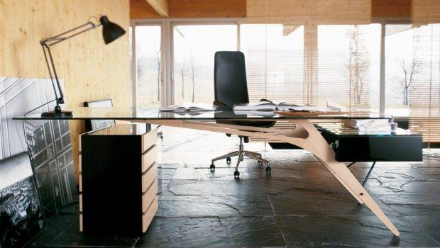 Designer Desk Adds Little Wow Factor