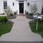 Designer House Entrance Walkway Plsblue New Hope