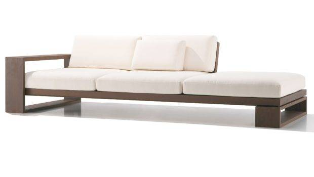 Designer Swiss Wooden Sofa