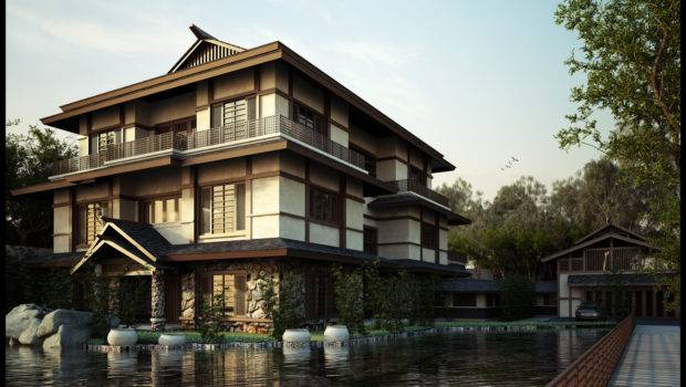 Designing Japanese Style House Home Garden Healthy Design