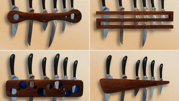 Designing Knife Storage Part Blocks Wall Racks Core