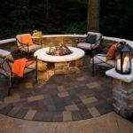Designing Patio Around Fire Pit Diy Shed Pergola Fence Deck
