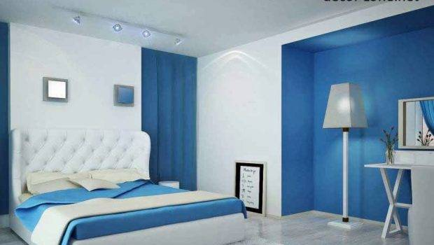Designs Furniture Accessories Paint Color White Blue Bedroom