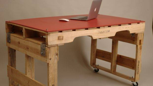 Desk Furniture Recycled Materials Design Interiordecodir