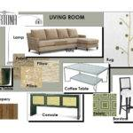 Detailed Plans Interior Designers Submitted Their Design Board