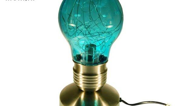 Details Funky Touch Table Lamp Blue Bml
