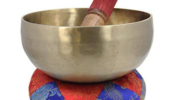 Dharma Objects Hammered Zen Inches Singing Bowl Set