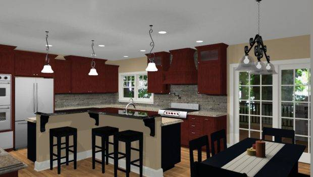 Different Island Shapes Kitchen Designs Remodeling