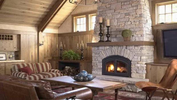 Digital Photography Above Segment Natural Stone Fireplaces