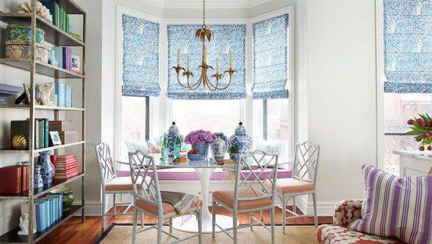Dining Room Bay Window Banquette Contemporary