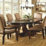 Dining Room Ideas Mahogany Oval Table Design Chic