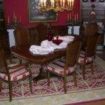 Dining Room Rug Large Enough Allow Chairs