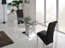 Dining Room Set Home Furniture Glass Tables