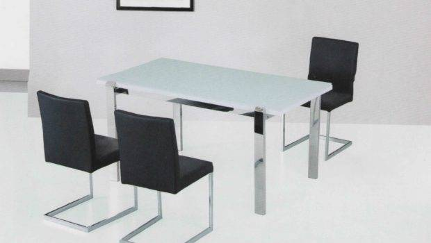 Dining Room Table Furniture Modern Glass