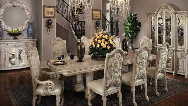 Dining Room Tables Decorating Yellow