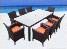 Dining Set Outdoor Wicker Patio Furniture Choose Colors Here
