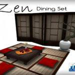Dining Set Texture Changeable Room Furniture Table