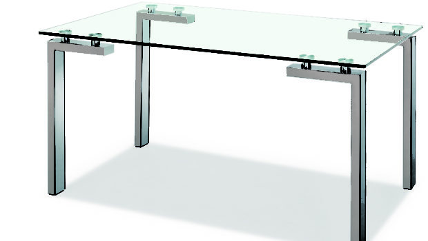Dining Table Legs Creative Ractangle Glas Design Latest