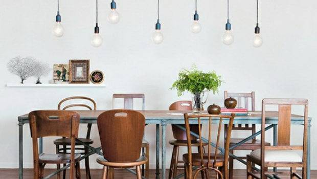 Dining Table Mismatched Chairs
