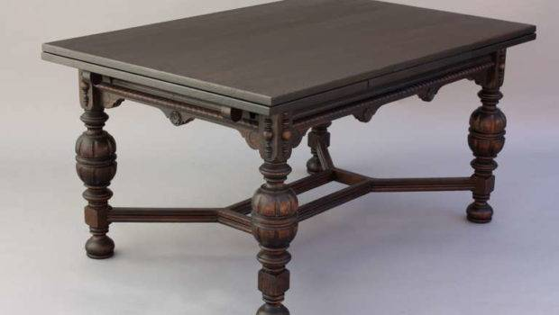 Dining Table Retractable Leaves Stdibs