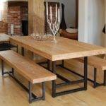 Dining Table Stylish Accent Awesome Reclaimed Wood
