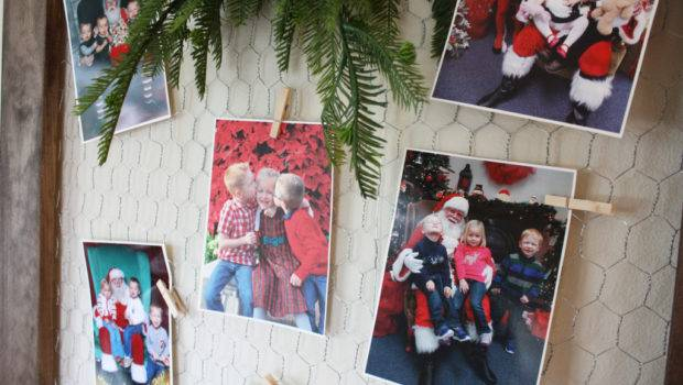 Displaying Santa Photos Meadow Lake Road