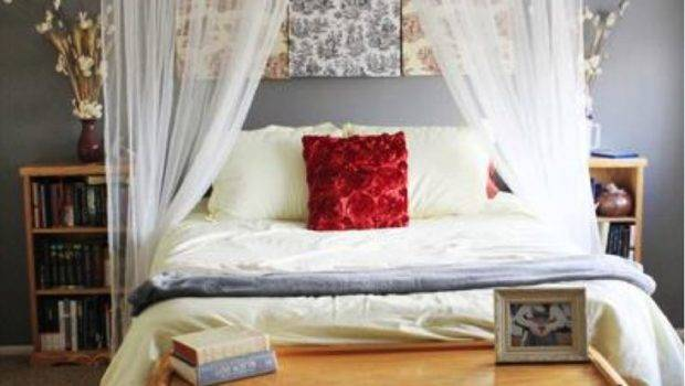 Divine Bedroom Decoration Various Curtain Over Bed