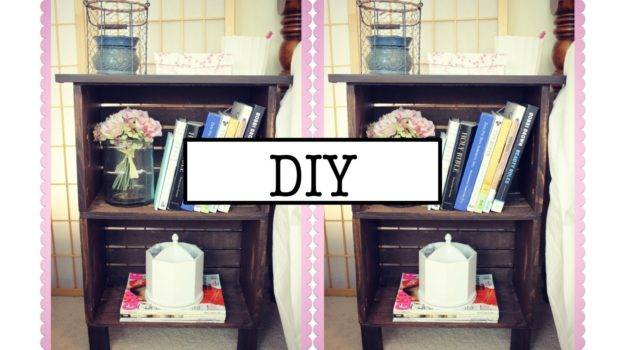 Diy Antique Inspired Nightstand Bookcase Youtube