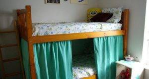 Diy Bunk Bed Curtains Home Decorating Ideas