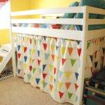 Diy Camp Loft Bed Curtain Yourself Home Projects