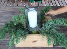 Diy Christmas Table Decorations Easy Centerpiece