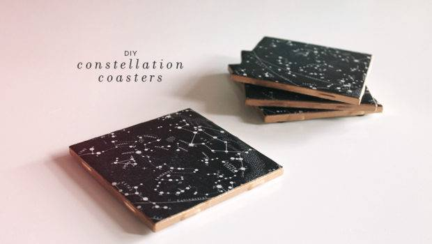 Diy Constellation Coasters Almost Makes Perfect