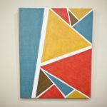Diy Easy Geometric Painting Melissa Diane