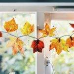 Diy Fall Leaf Garland Christmas Lights