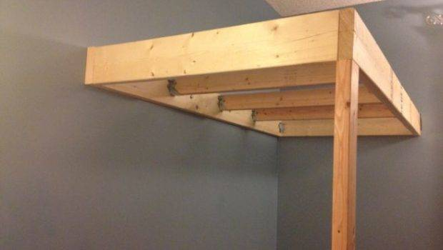 Diy Hanging Loft Bed Innovative Design