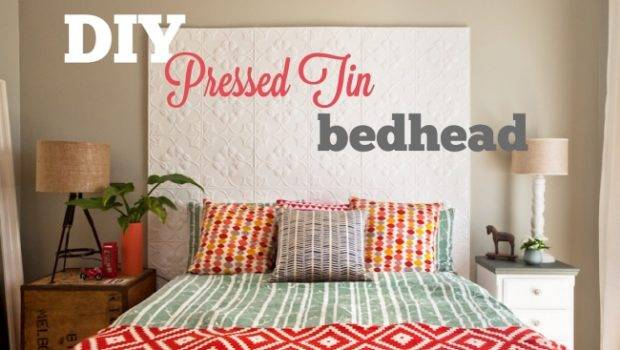 Diy Pressed Tin Bedhead Win Forty Winks Silent