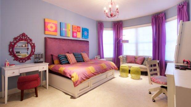 Diy Projects Decorating Tween Room Ideas Blue Wall