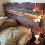 Diy Reclaimed Timber Bedhead Favourite Furniture Pinterest
